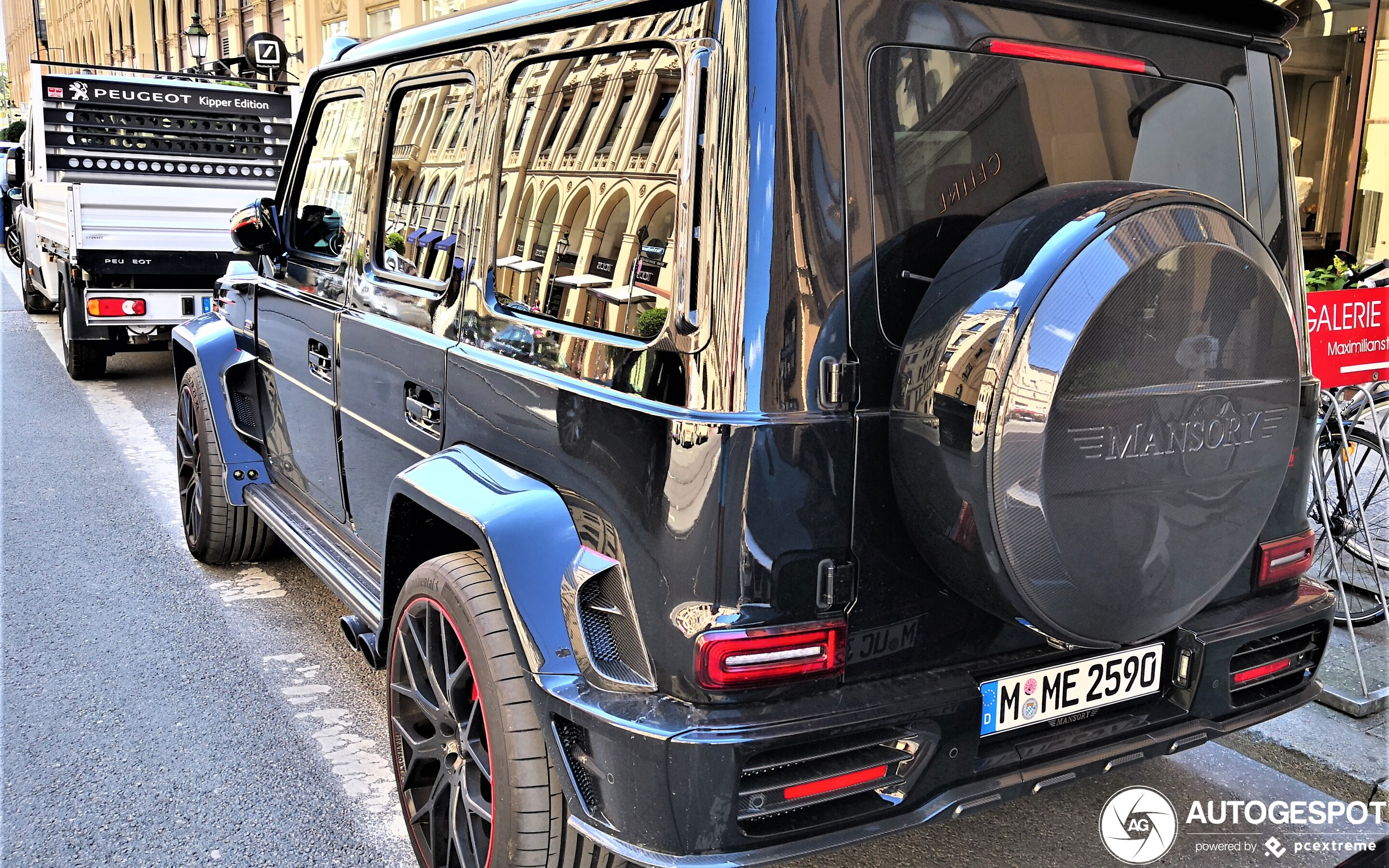 Mercedes-AMG Mansory G 63 P720 Performance