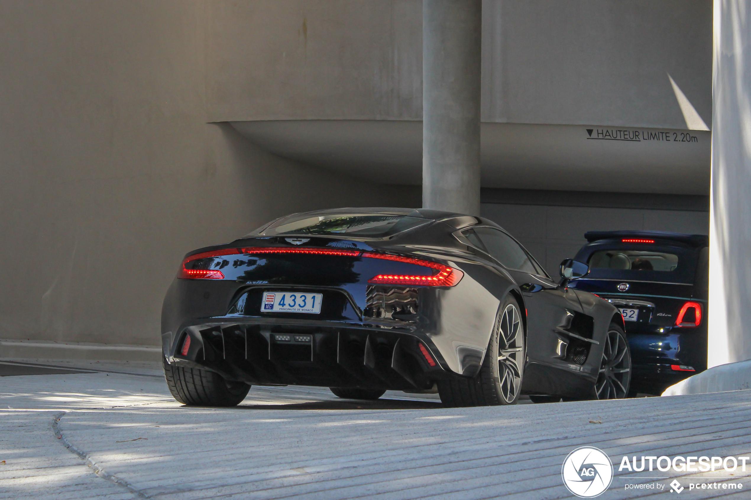 Aston Martin One-77 blijft buitenaards