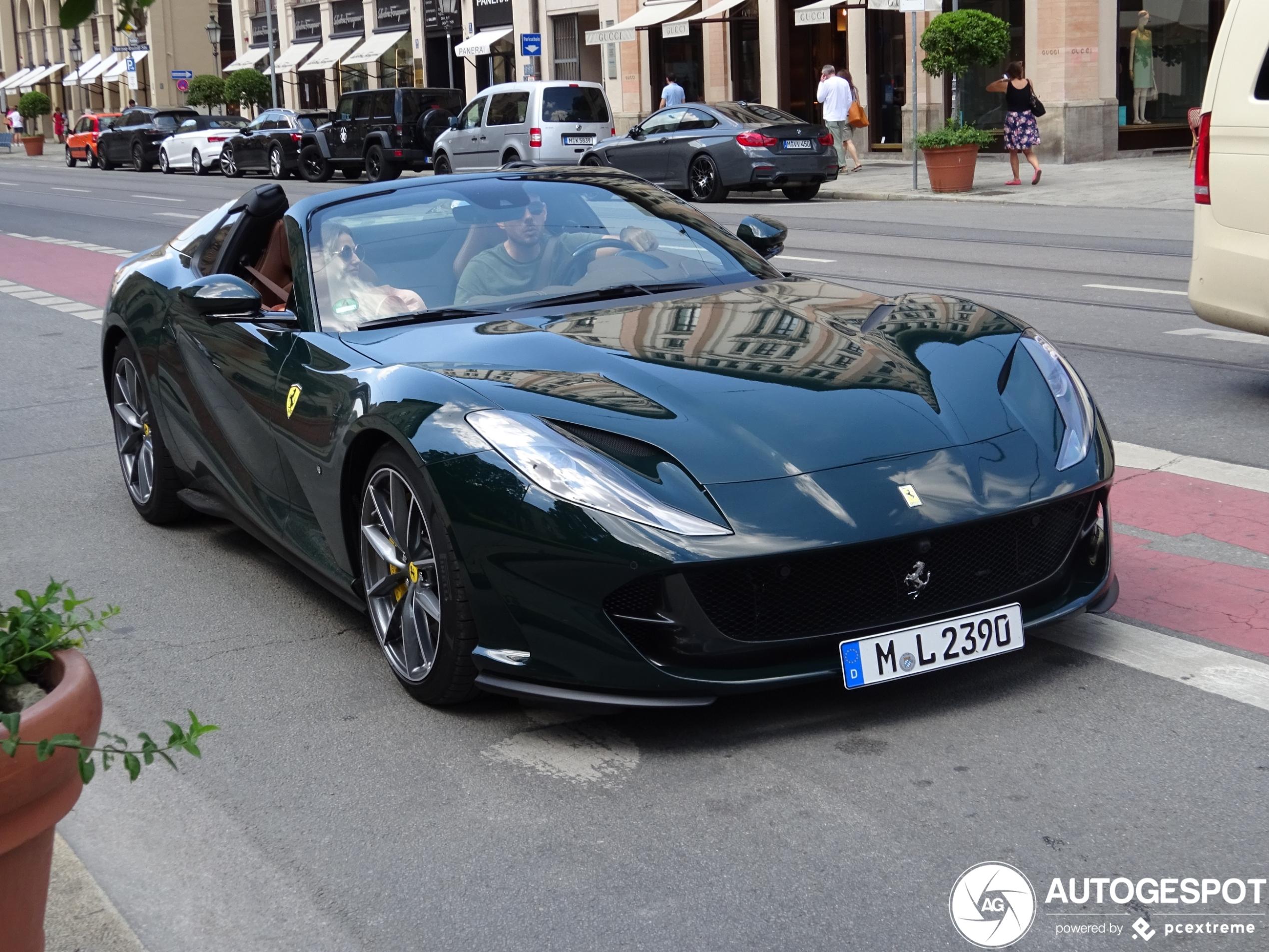 Ferrari 812 Gts 12 August 2020 Autogespot