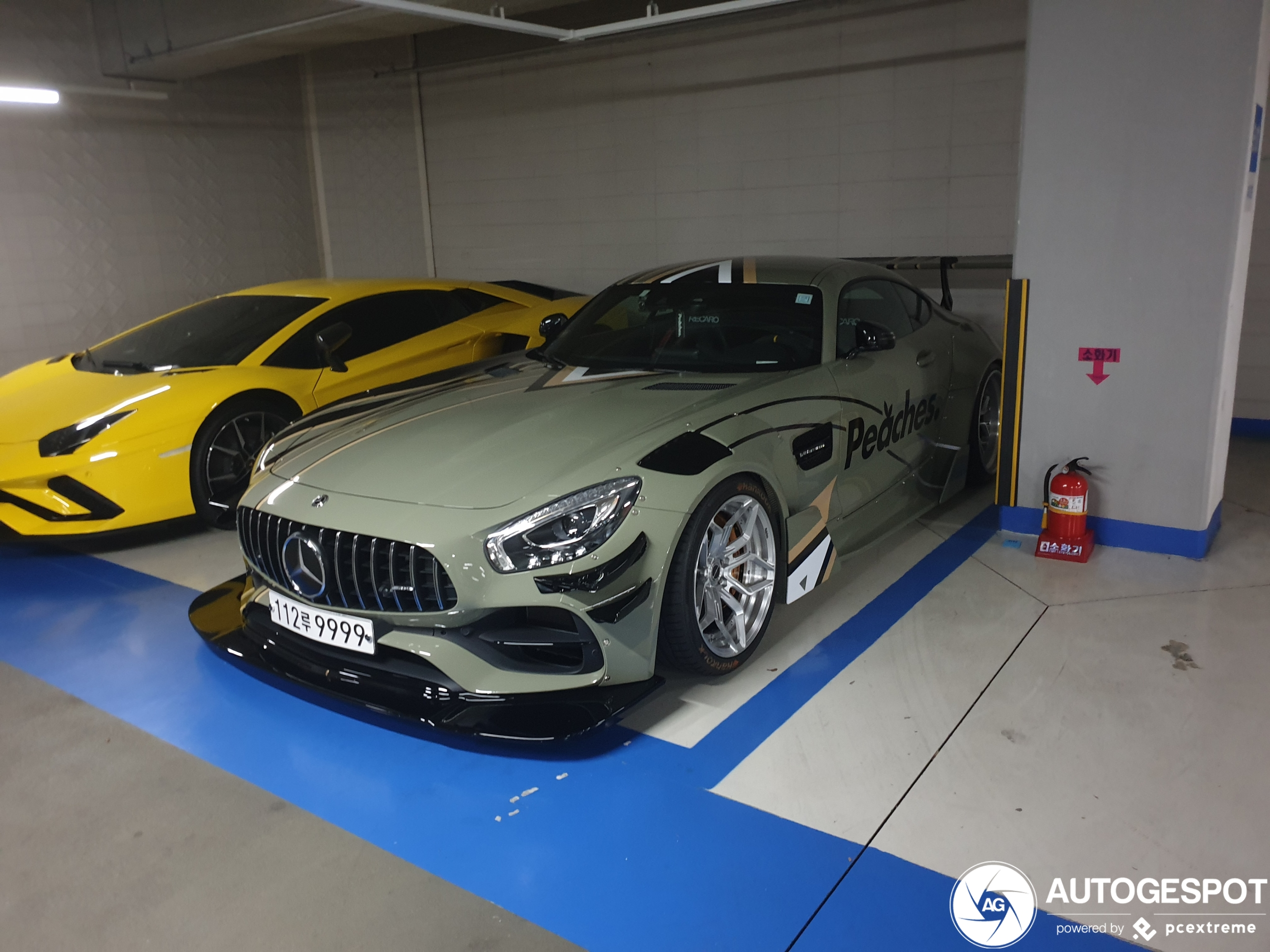 Mercedes-AMG GT C uitgedost als racemonster