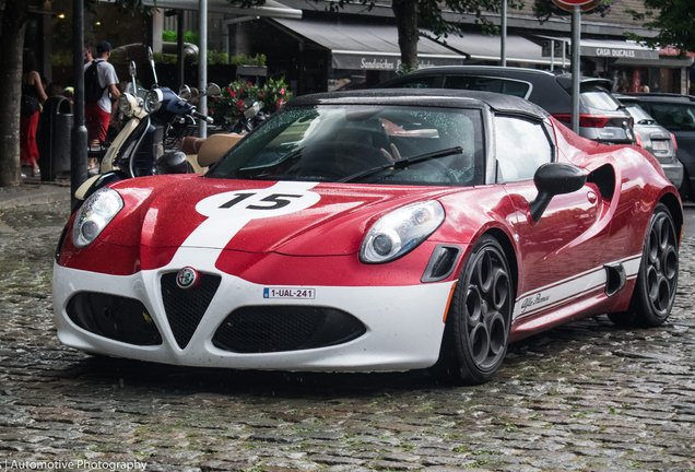Alfa Romeo 4C Spider Edizione Corsa