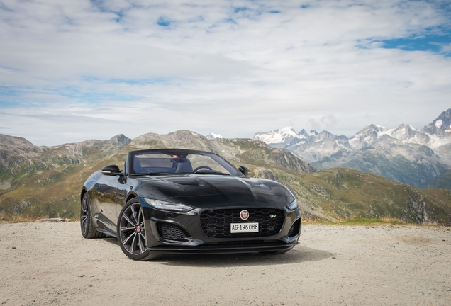 Jaguar F-TYPE R Convertible 2020