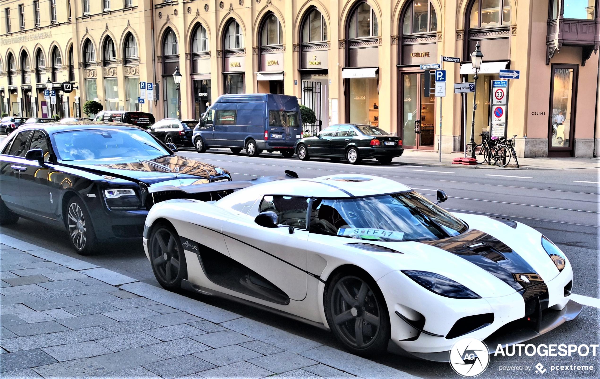 Koenigsegg Agera RS pakt München mee