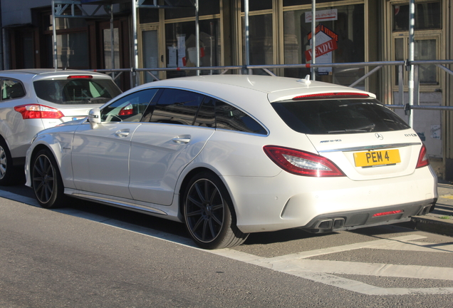 Mercedes-AMG CLS 63 S X218 Shooting Brake 2016