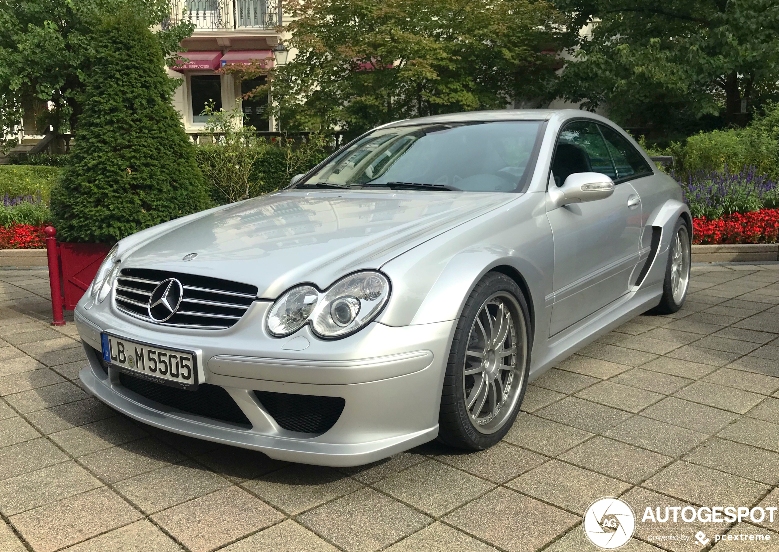 Mercedes-Benz CLK DTM AMG mag er nog altijd zijn