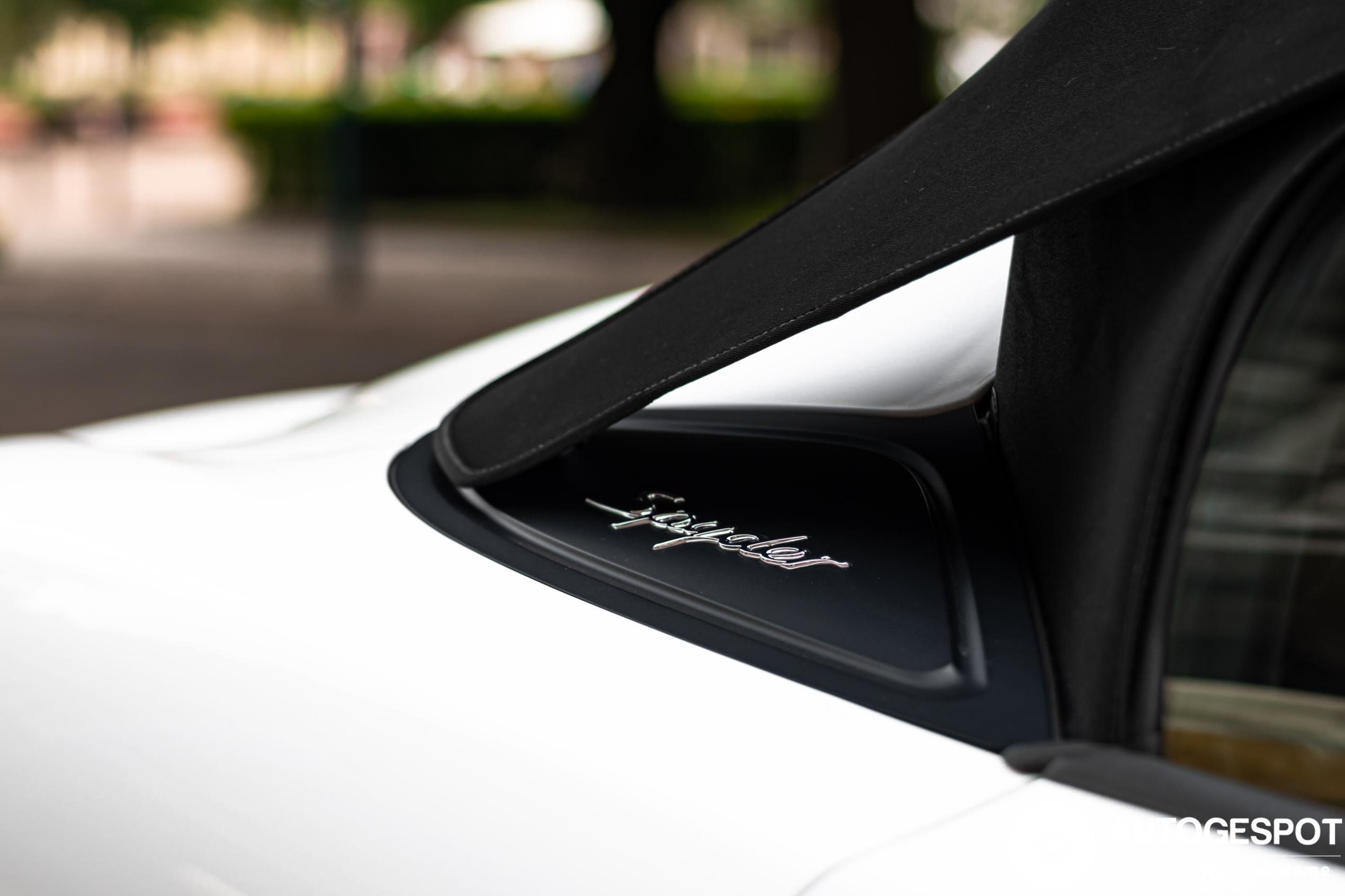 Porsche 981 Boxster Spyder