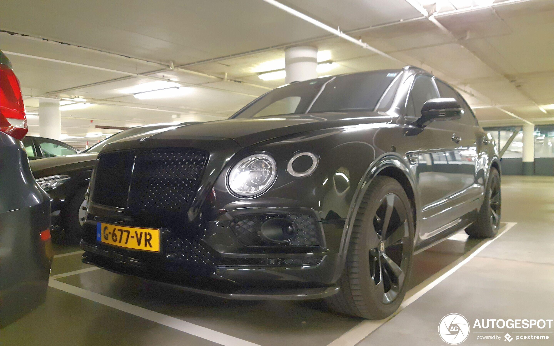 Bentley Bentayga Black Edition 4 September 2020 Autogespot