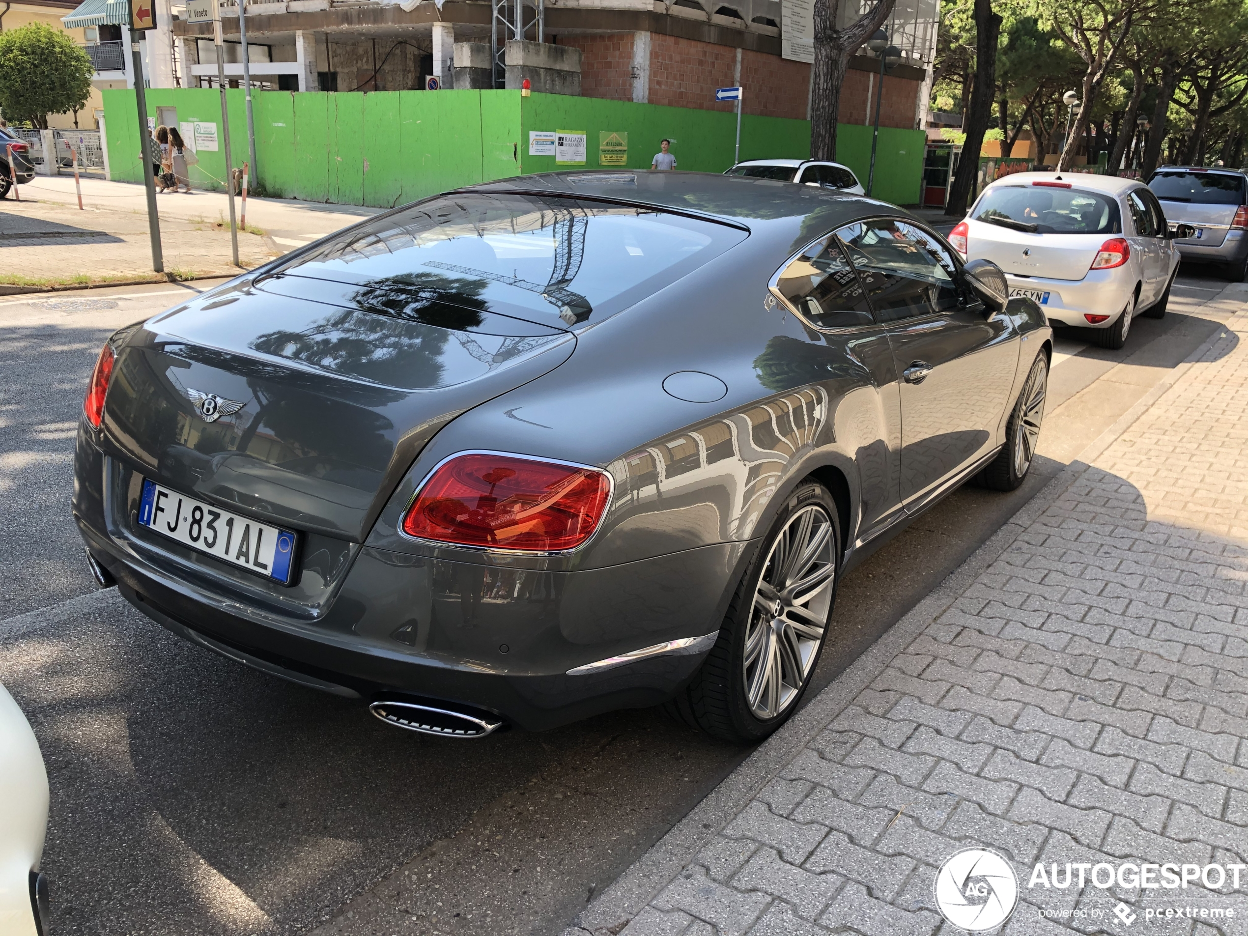 Bentley Continental GT Speed 2012