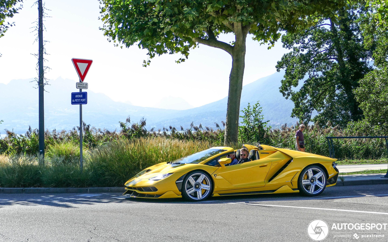 Lamborghini Centenario LP770-4 Roadster