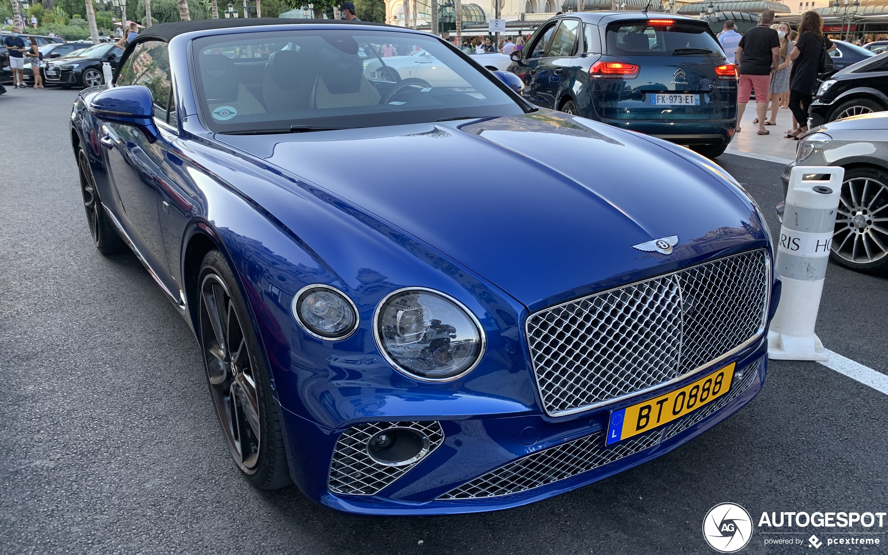 Bentley Continental GTC 2019 First Edition