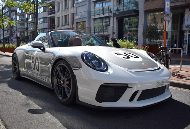 Porsche 991 Speedster Heritage Package