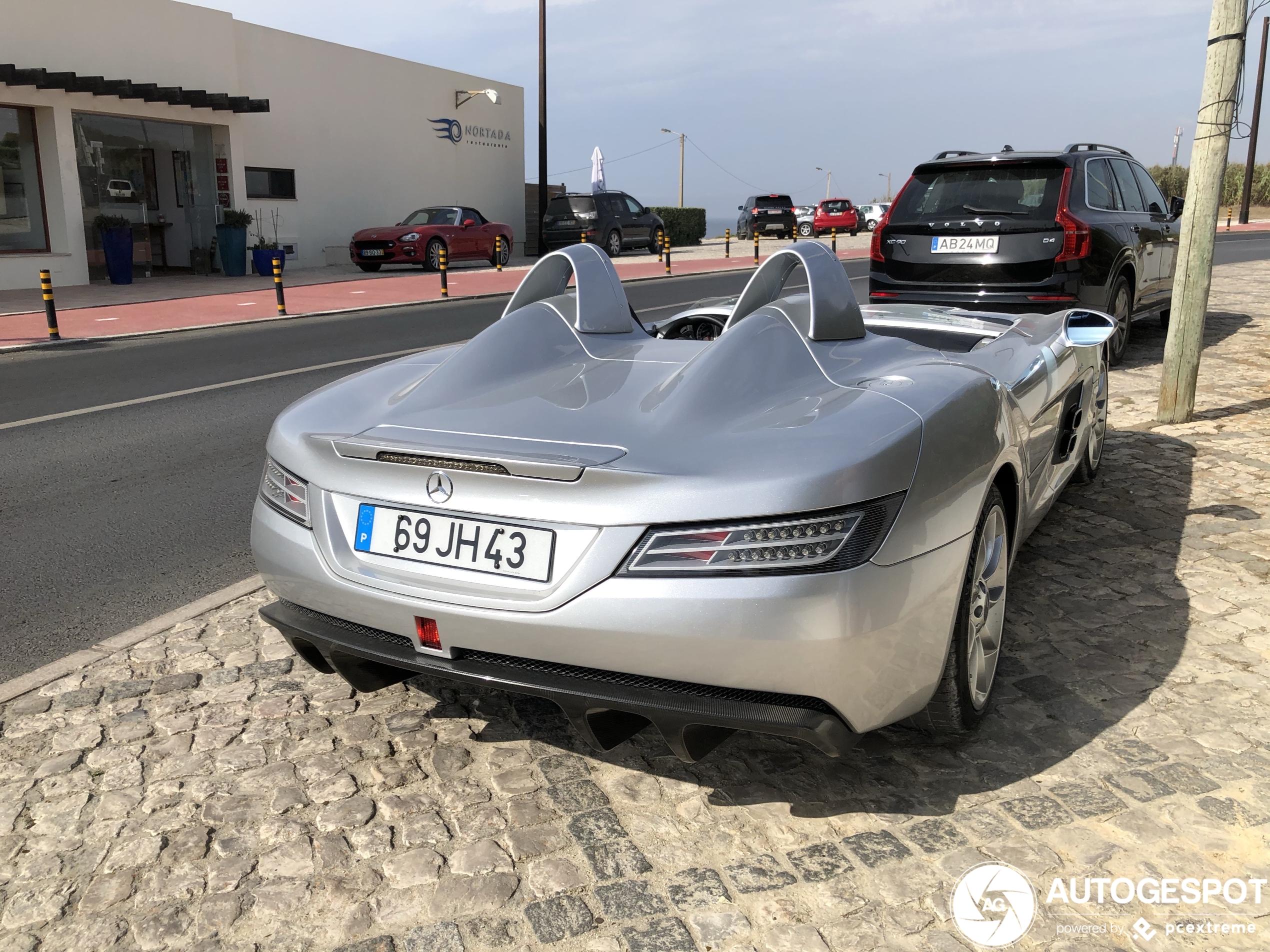 Mercedes-Benz SLR Stirling Moss is een blijvertje