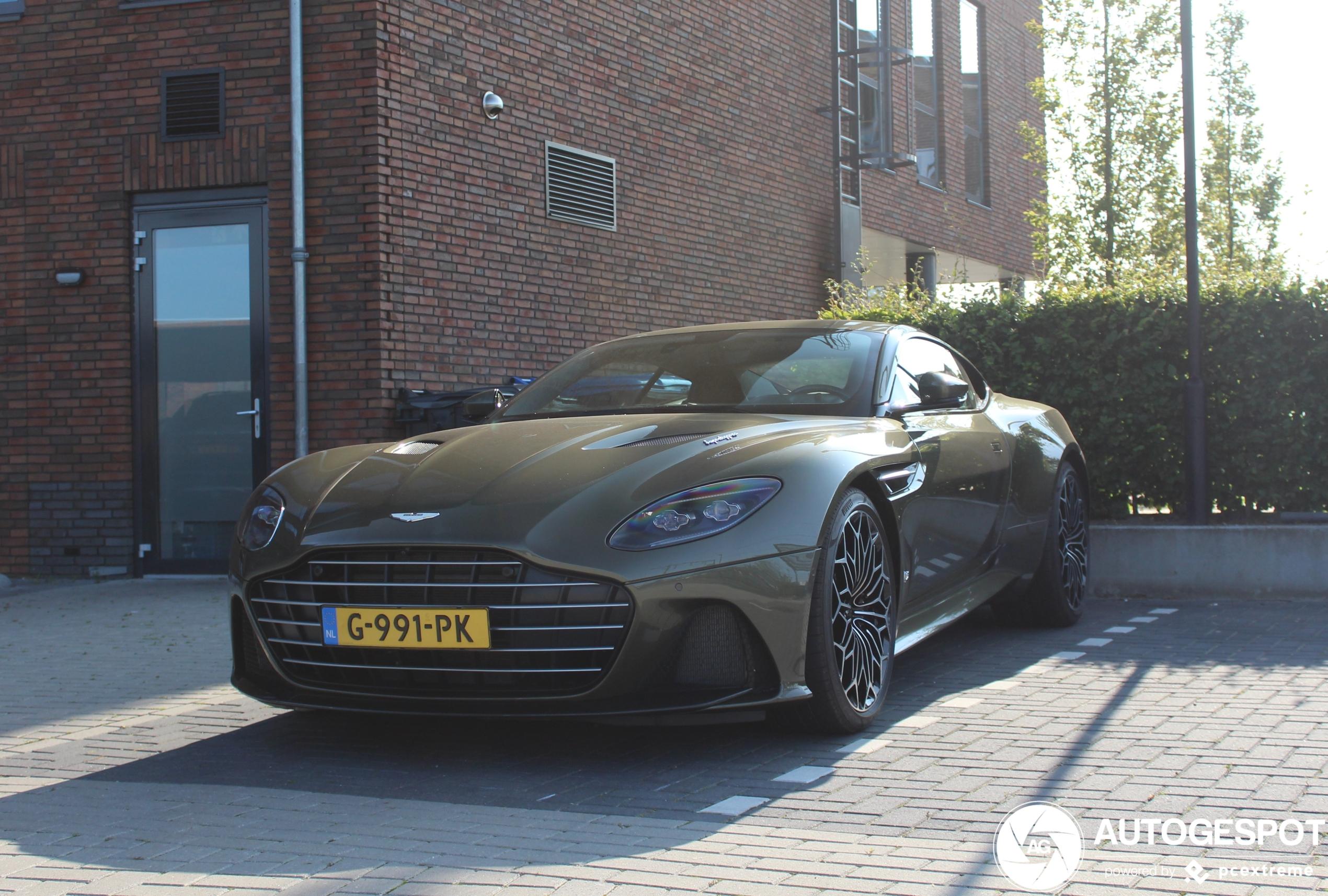 Aston Martin DBS Superleggera OHMSS blijft stoere ode aan James Bond