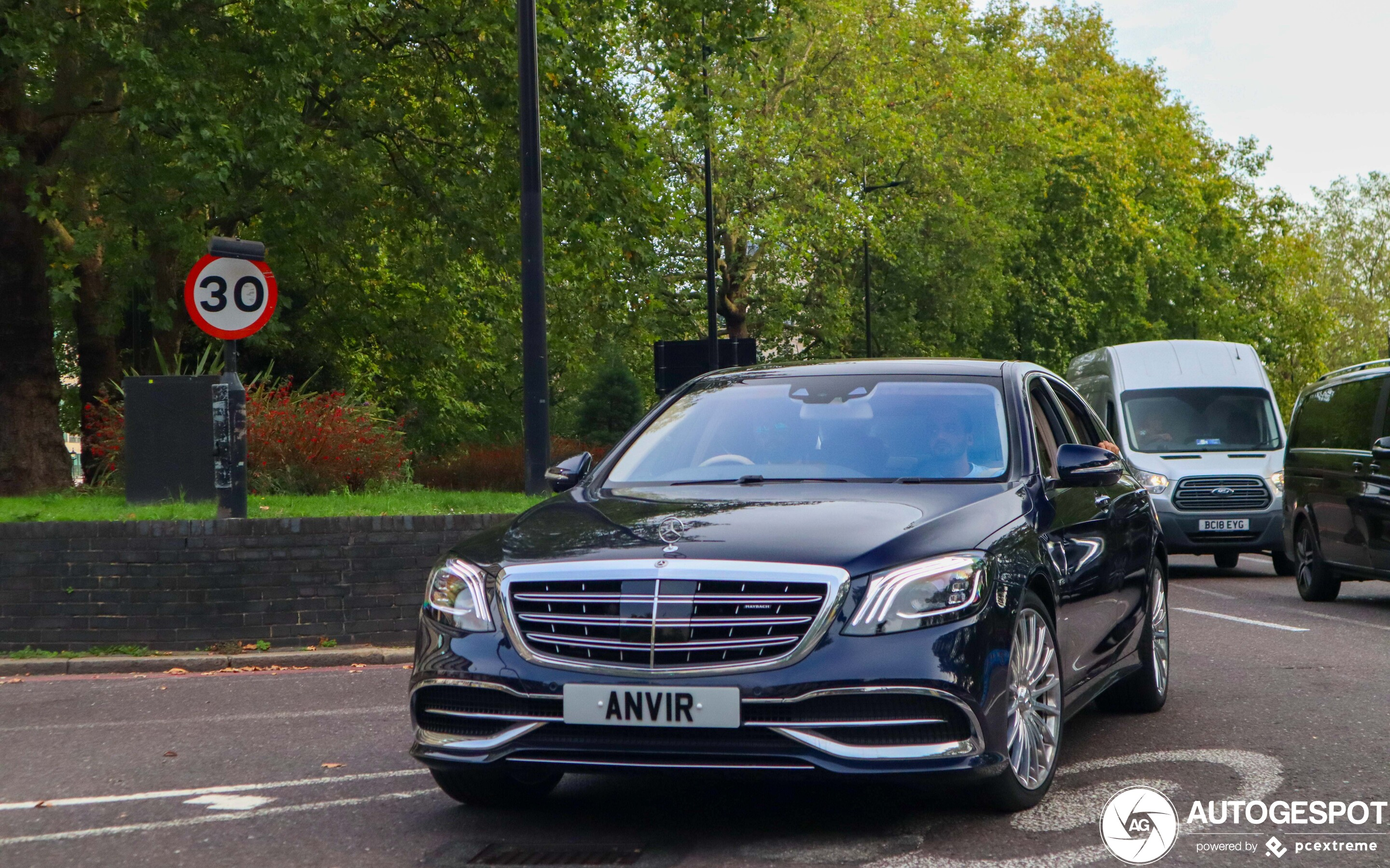 Mercedes-Maybach S 600 X222 2017