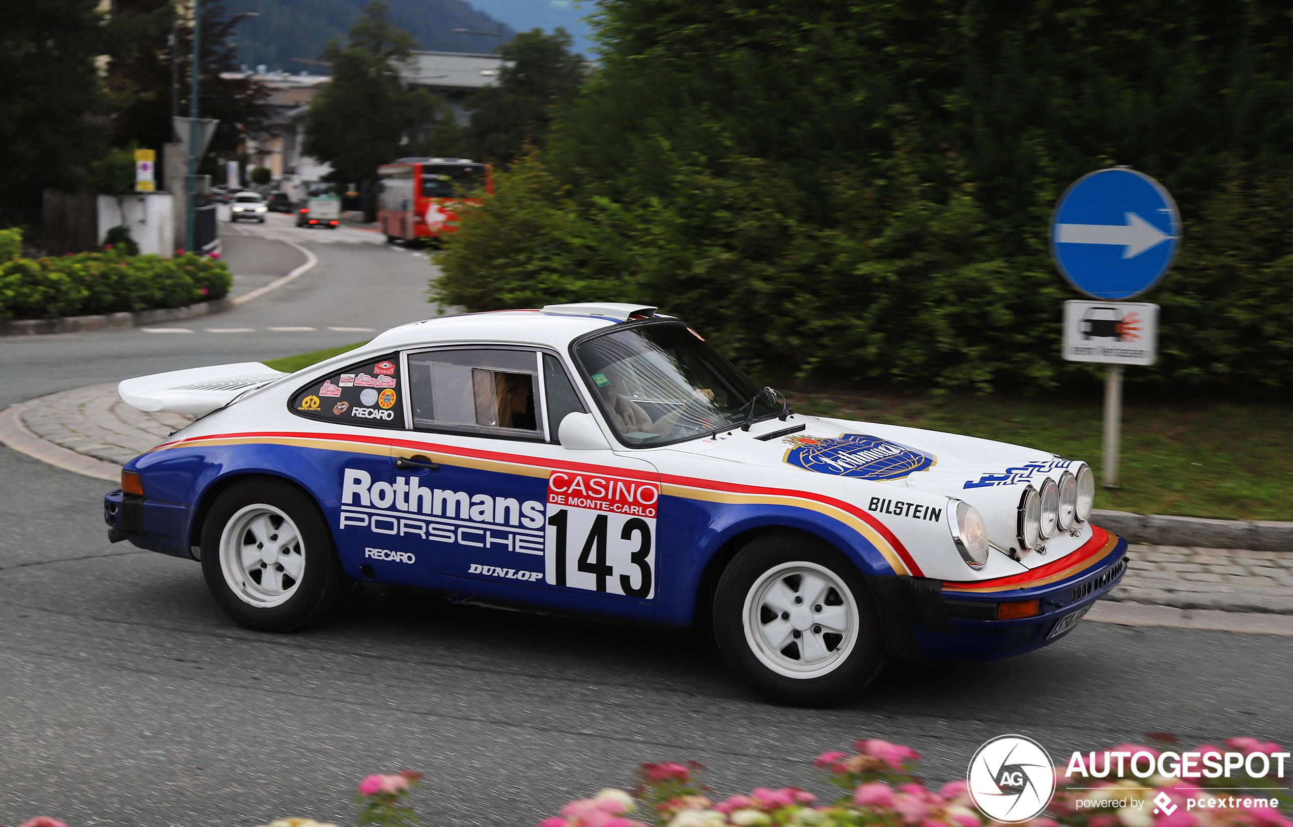 Porsche 911 Rally is lekker klassiekertje