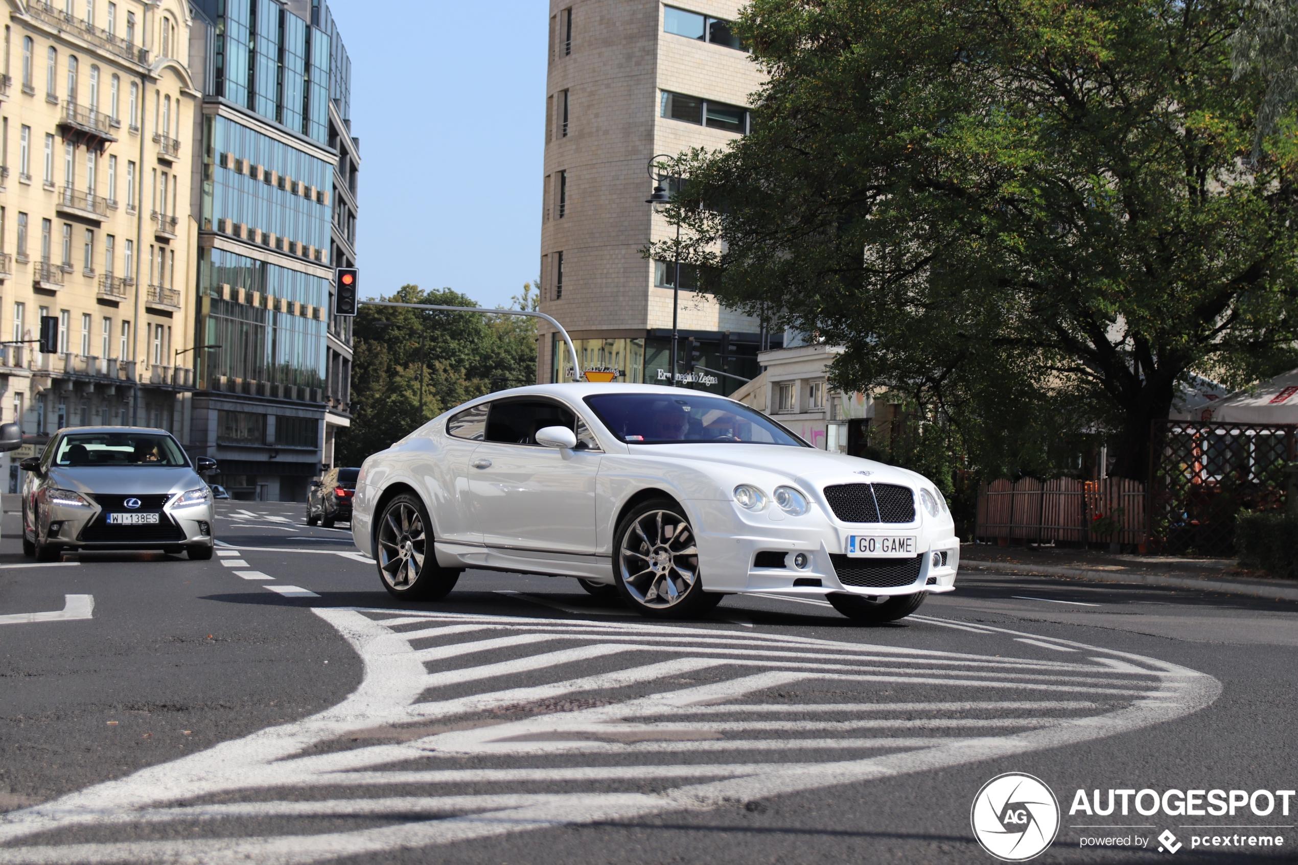 Bentley Continental GT Aero Function Widebody