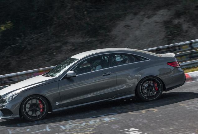 Mercedes-AMG E-klasse Coupé Mule