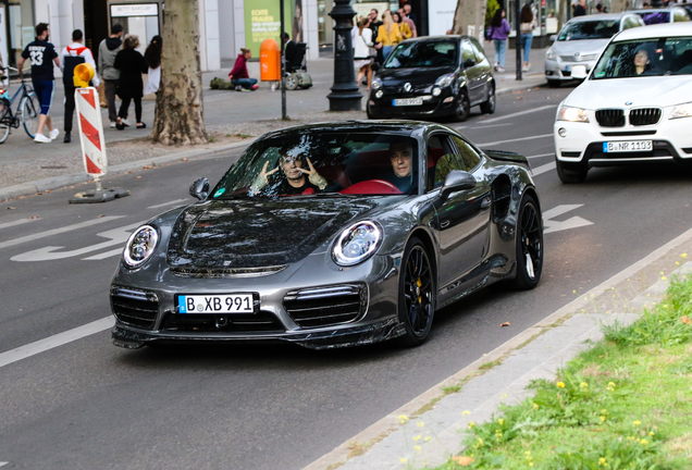 Porsche Mansory 991 Turbo S MkII Collage Edition