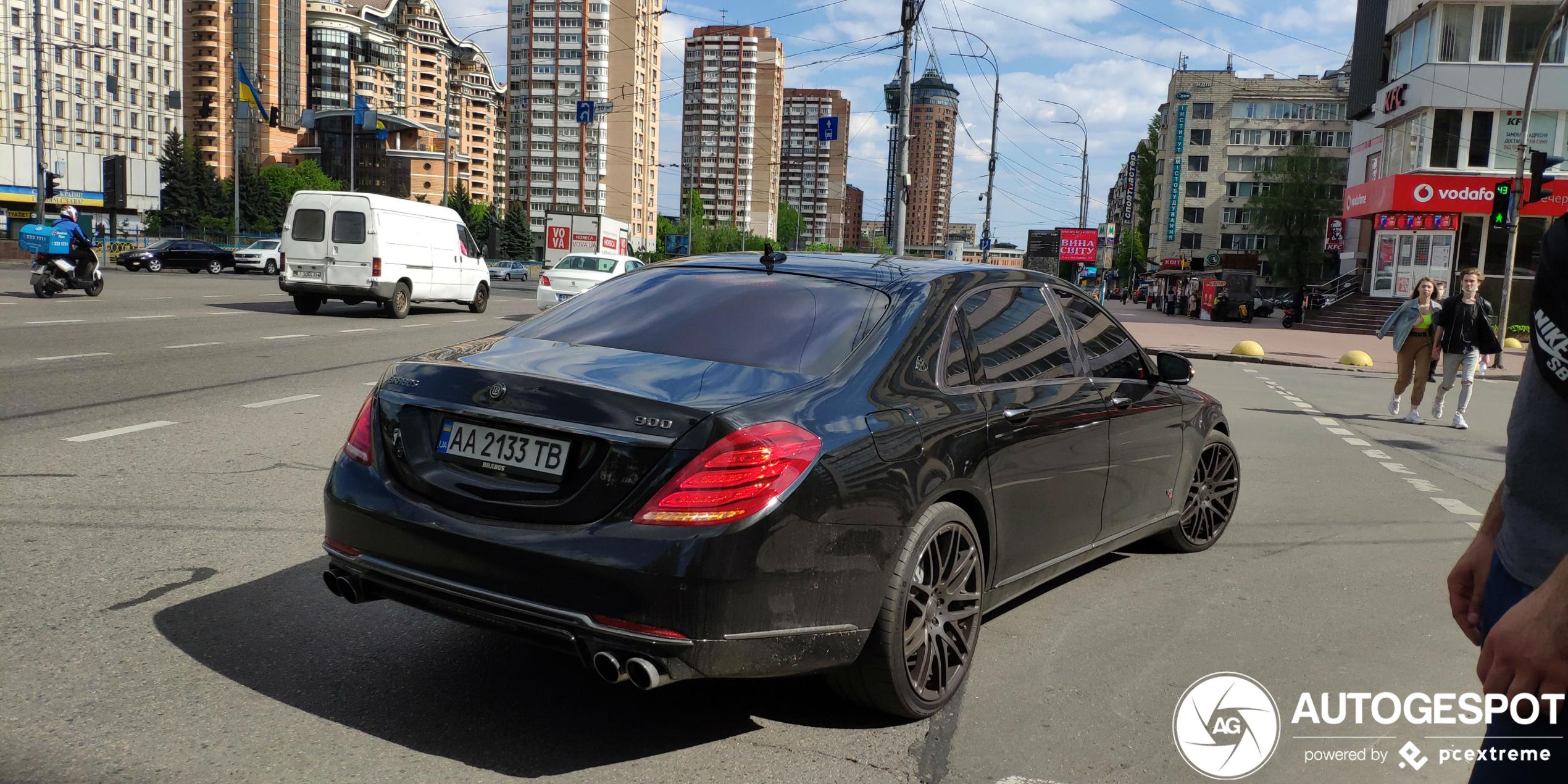 Mercedes-Maybach Brabus 900 Rocket is niet bij te houden