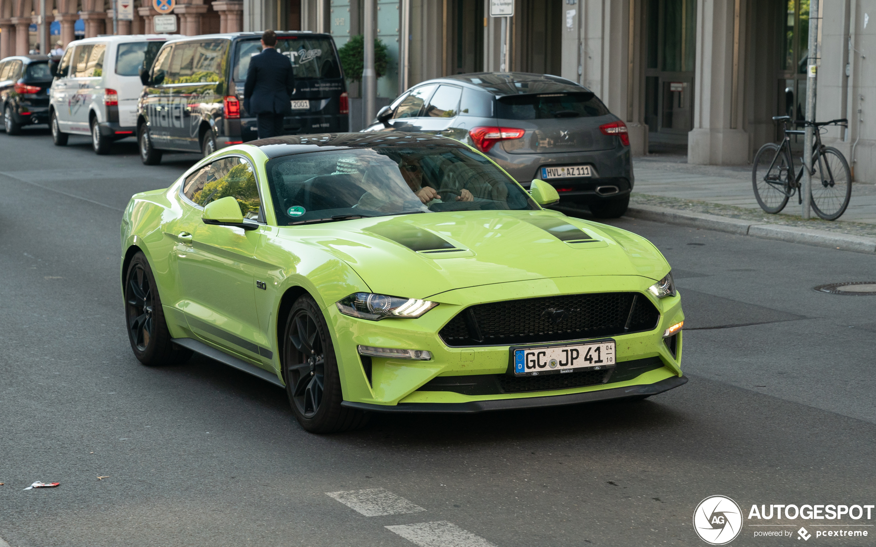 Ford Mustang GT 2018 Black Shadow Edition