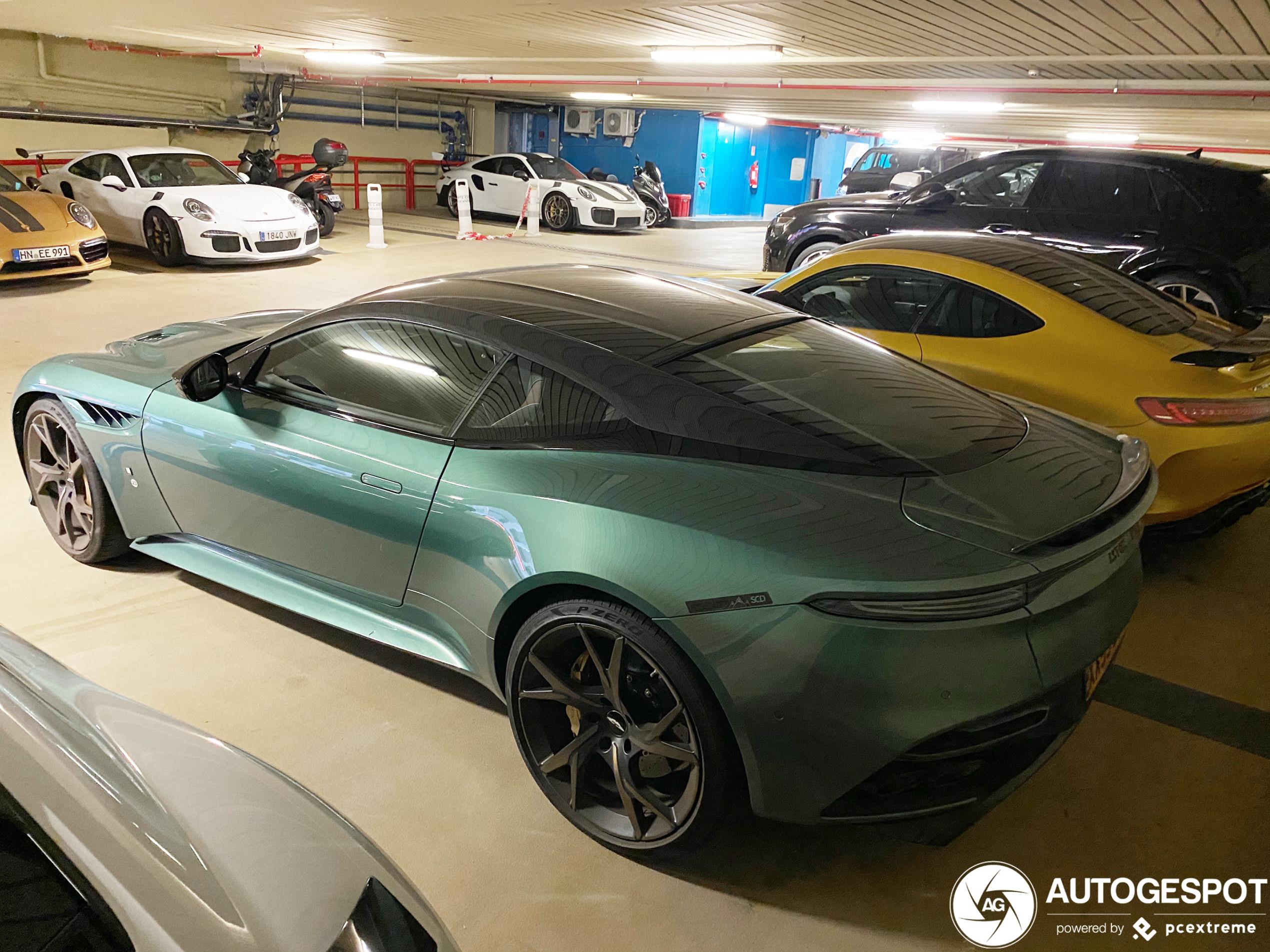 Aston Martin DBS Superleggera 59 Le Mans is het opvallendst in Monaco