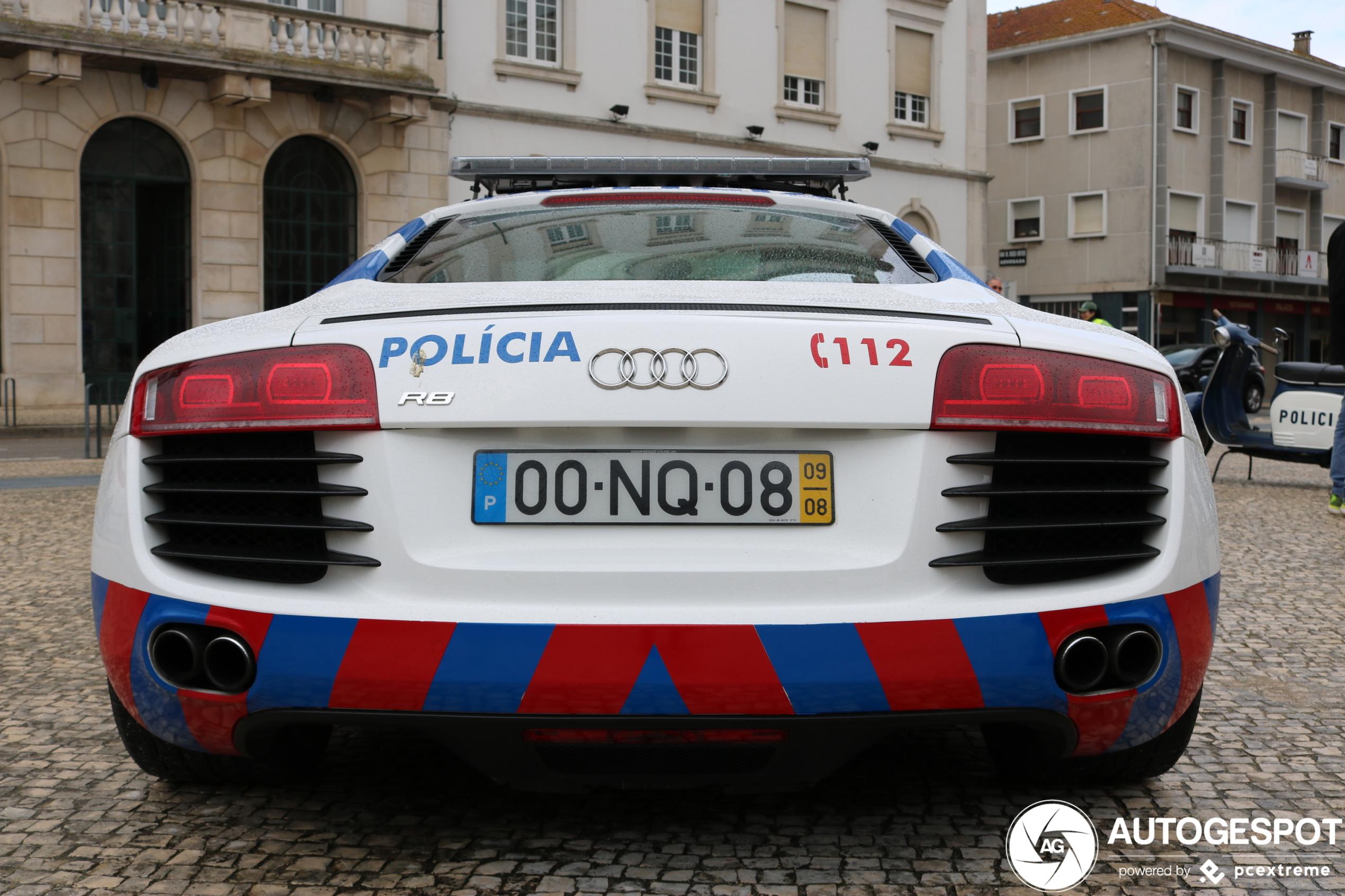 Portugese politie heeft ook leuke dienstauto