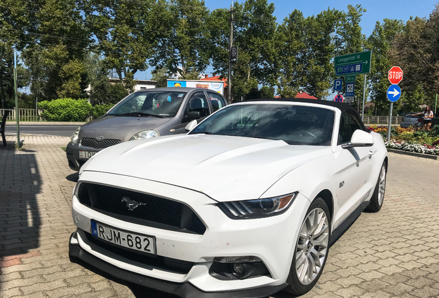 Ford Mustang GT Convertible 2015