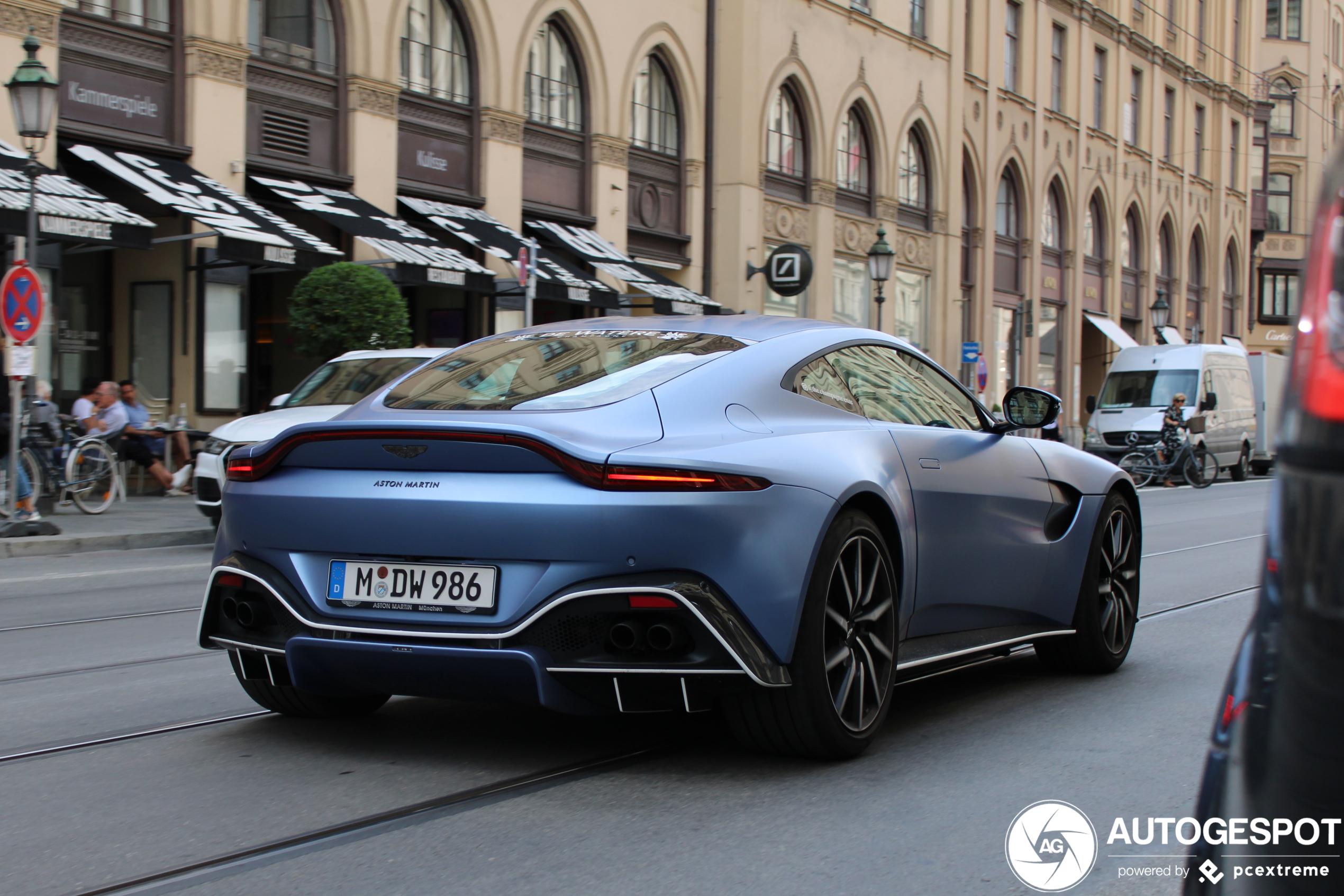 Aston Martin V8 Vantage 2018 28 September 2020 Autogespot