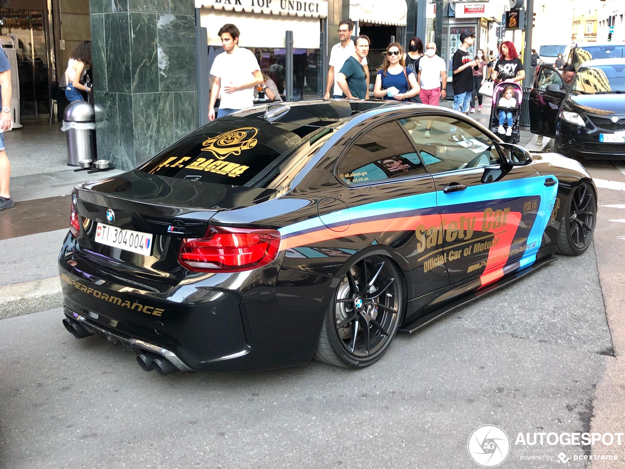 Buikschuiven met de BMW M2 Competition