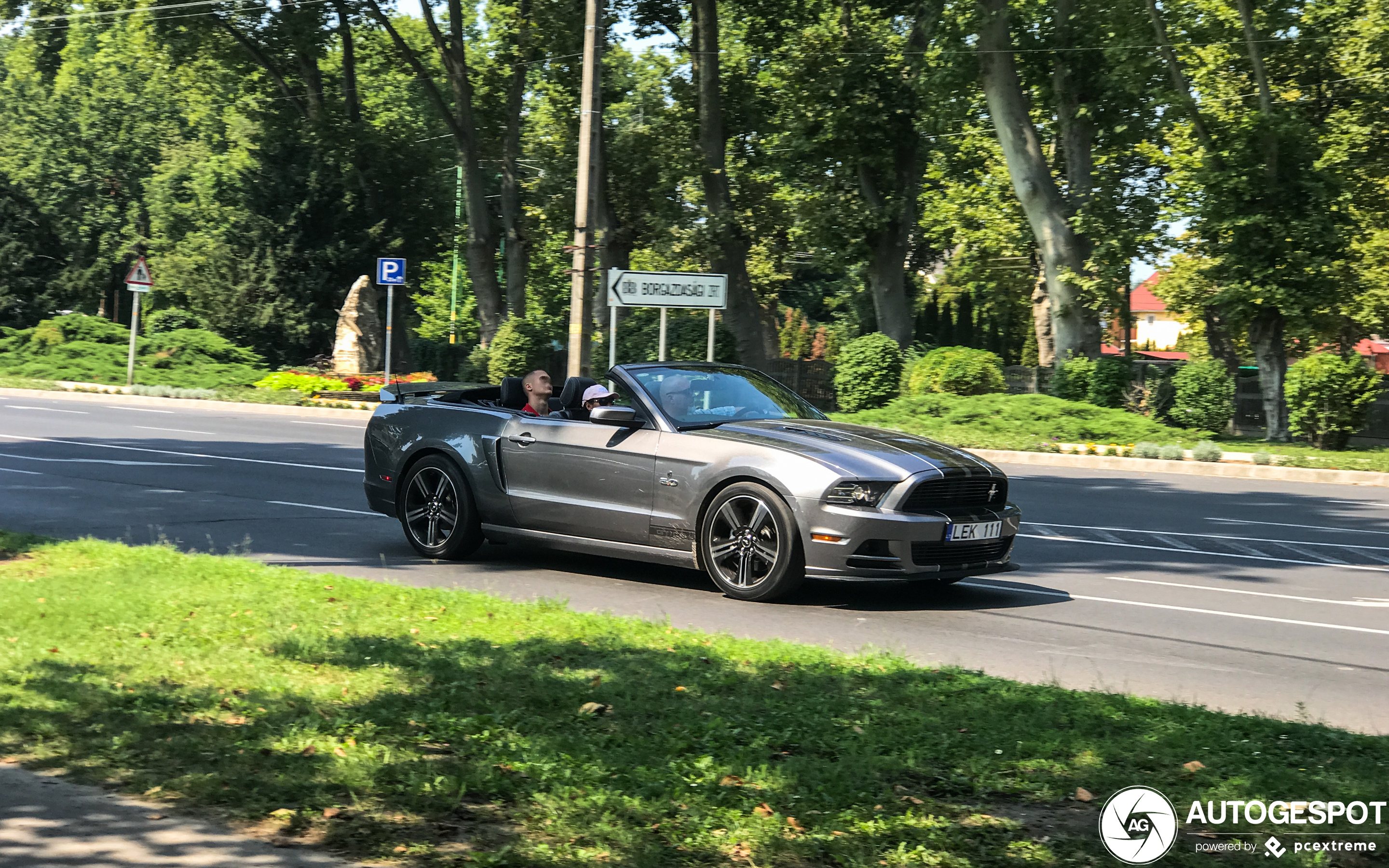 Ford Mustang GT California Special Convertible 2013