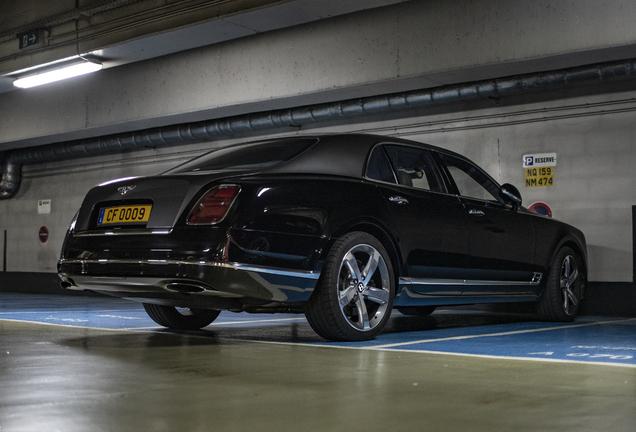 Bentley Mulsanne Speed 2016