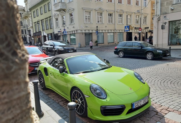 Porsche991 Turbo S Cabriolet MkII