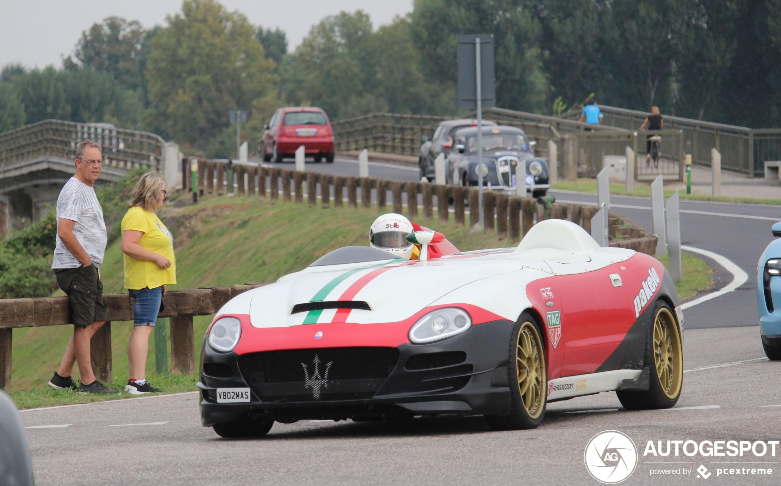 Maserati 420 Super Monoposto ziet er niet sprankelend uit