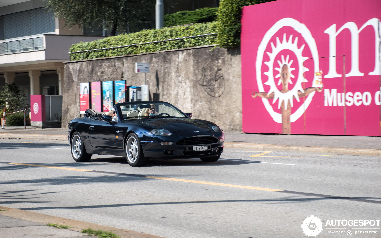 Aston Martin DB7 Volante