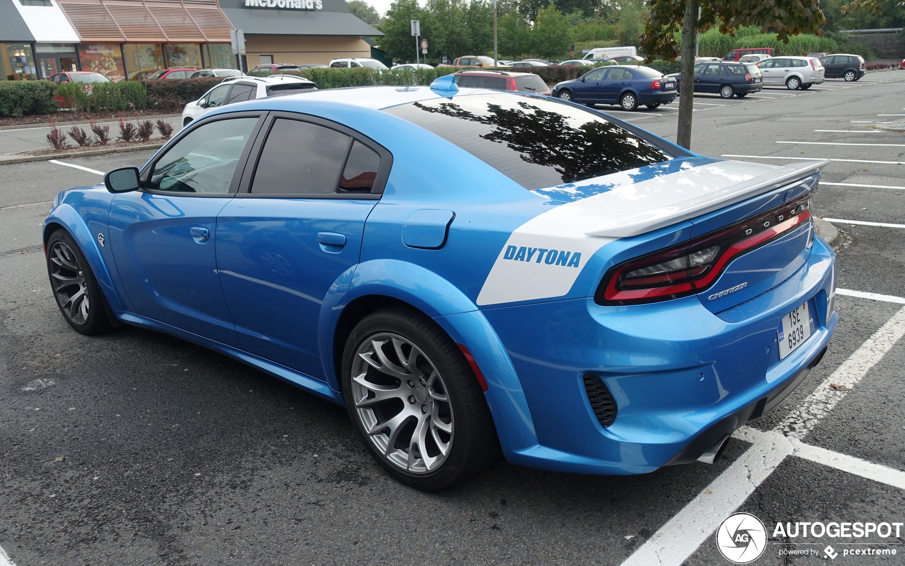 Dodge Charger Srt Hellcat Widebody Daytona 50th Anniversary 30 Setembro 2020 Autogespot