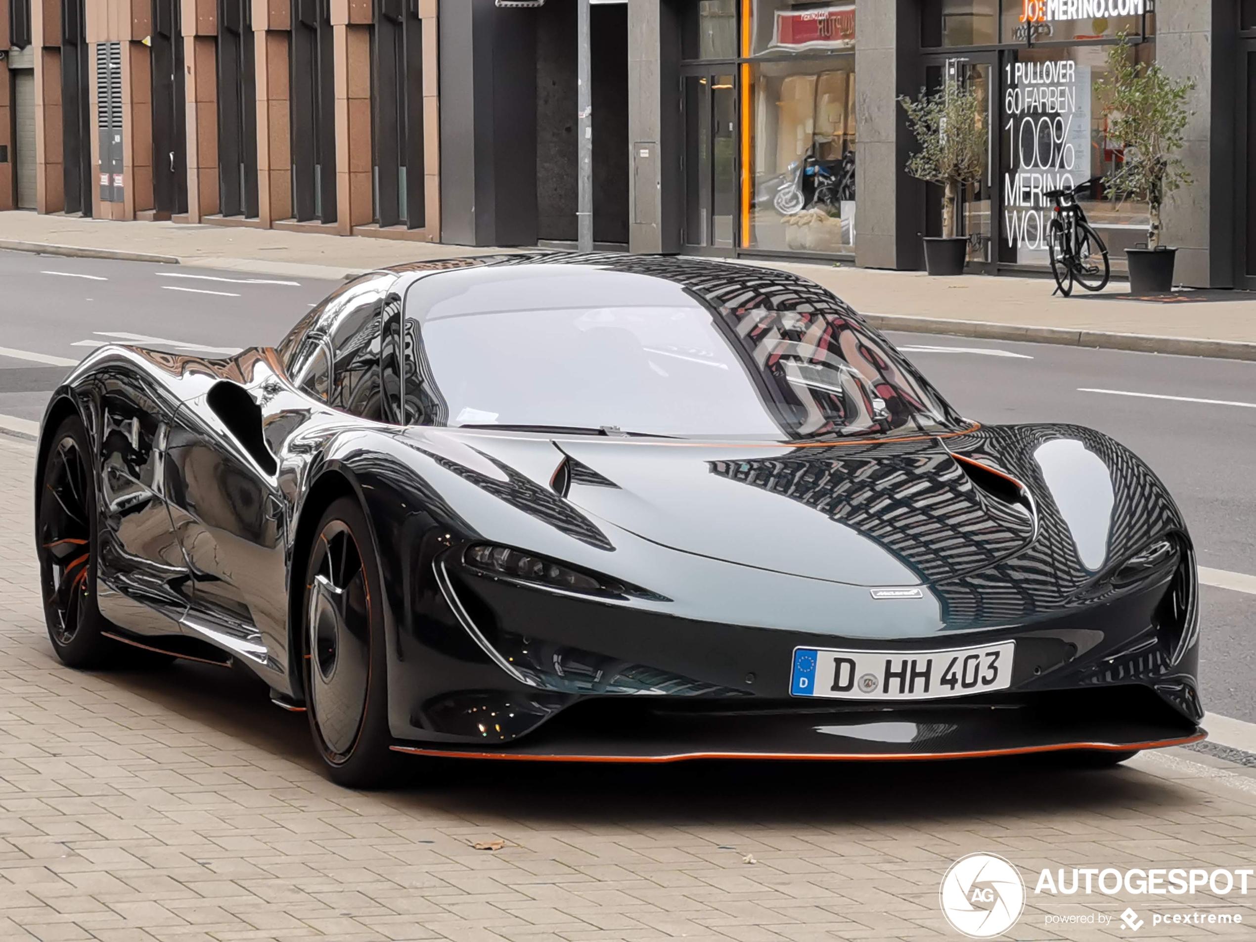 McLaren Speedtail duikt op in Düsseldorf