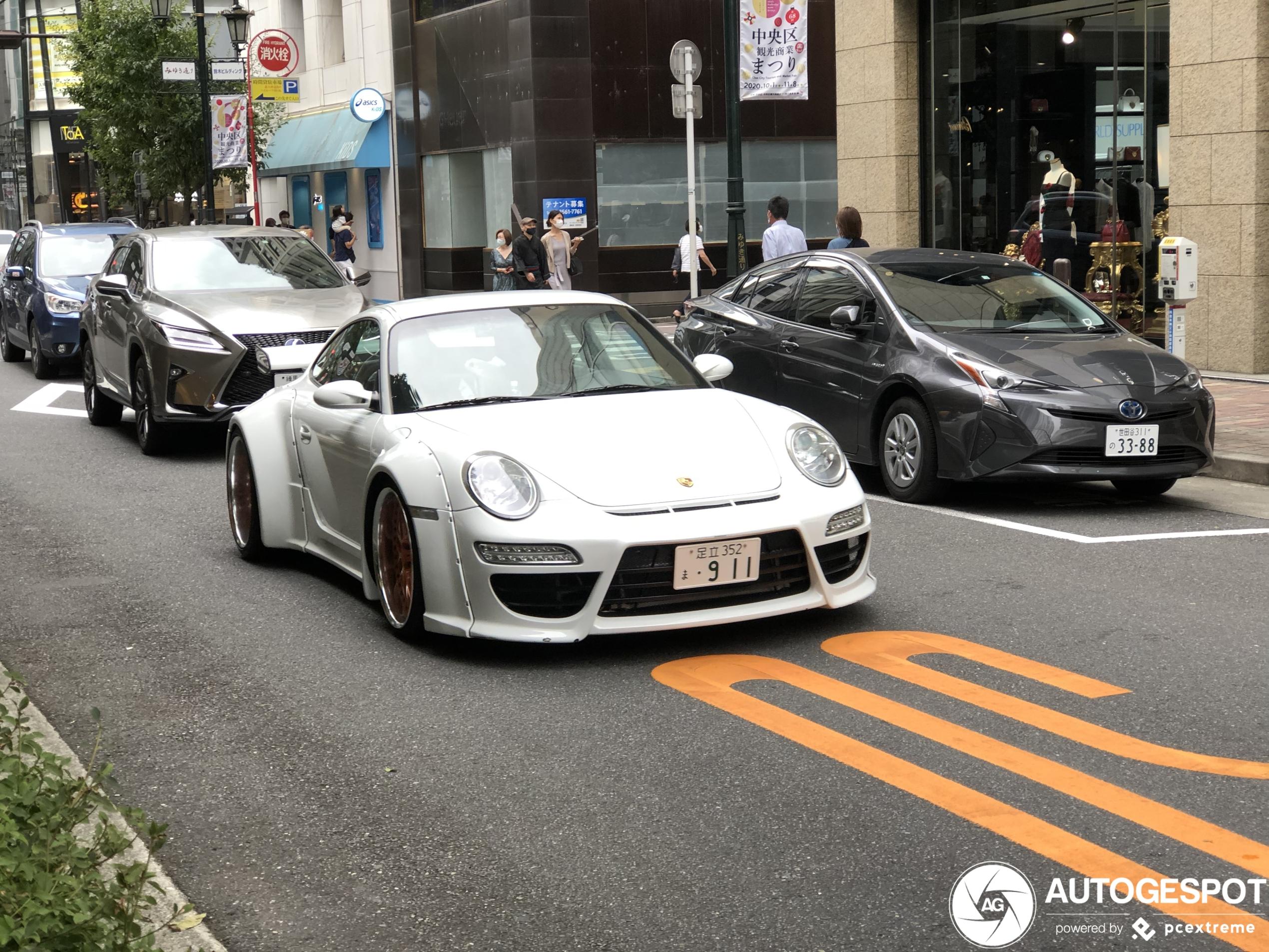 Porsche 997 Widebody Custom