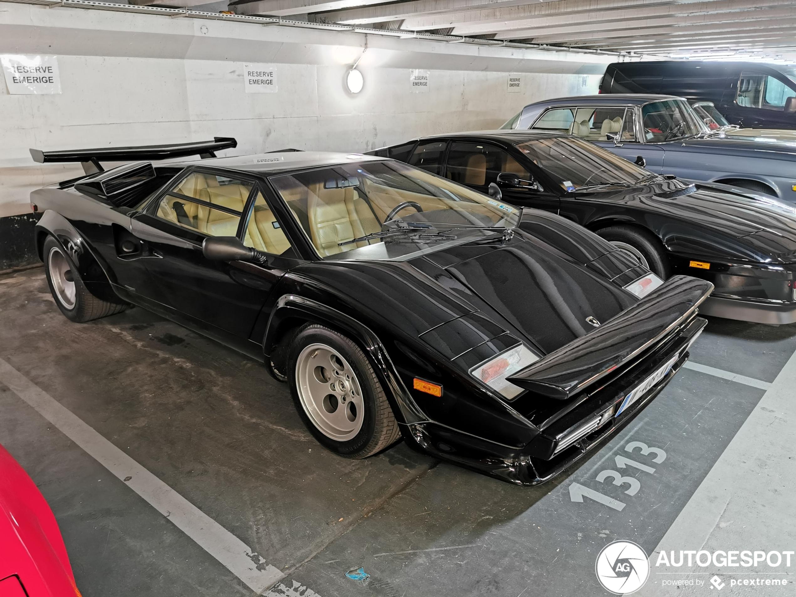 Downforce kan je niet genoeg hebben: Lamborghini Countach 5000 S