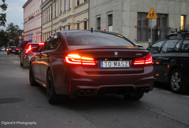 BMW M5 F90 First Edition 2018