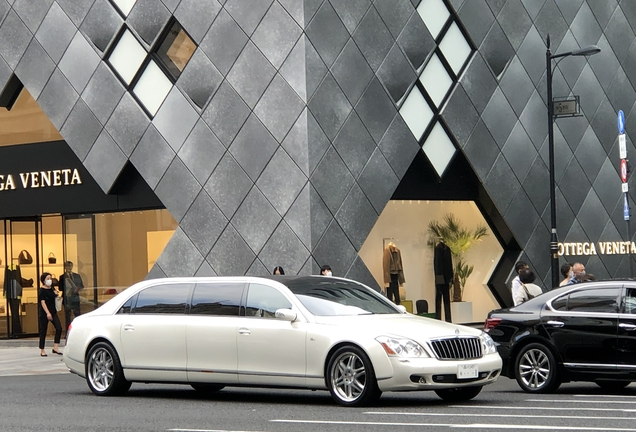 Maybach 62 Stretch Limo