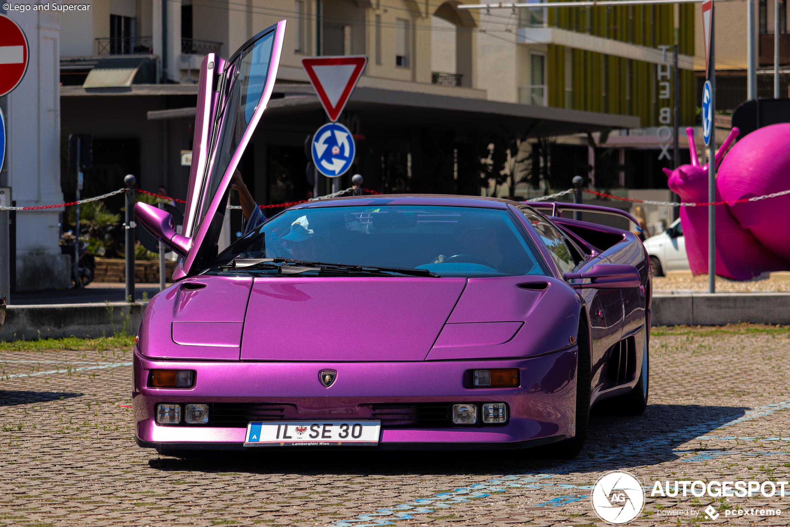 Lamborghini Diablo SE30 is een echte droomauto