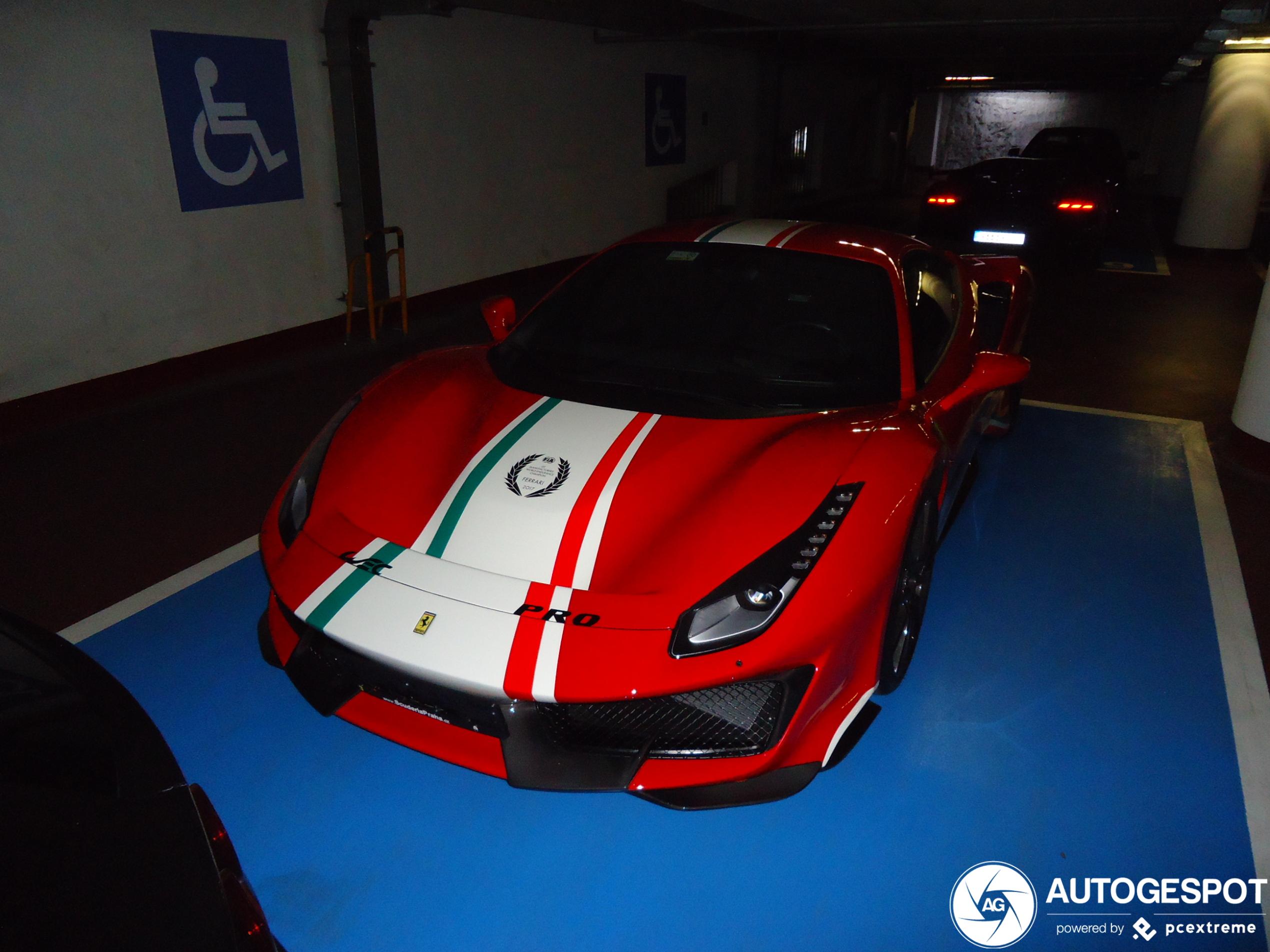 Ferrari 488 Pista Piloti