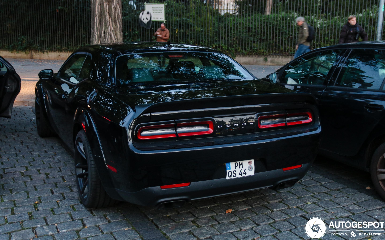 Dodge Challenger SRT Hellcat Widebody 2019