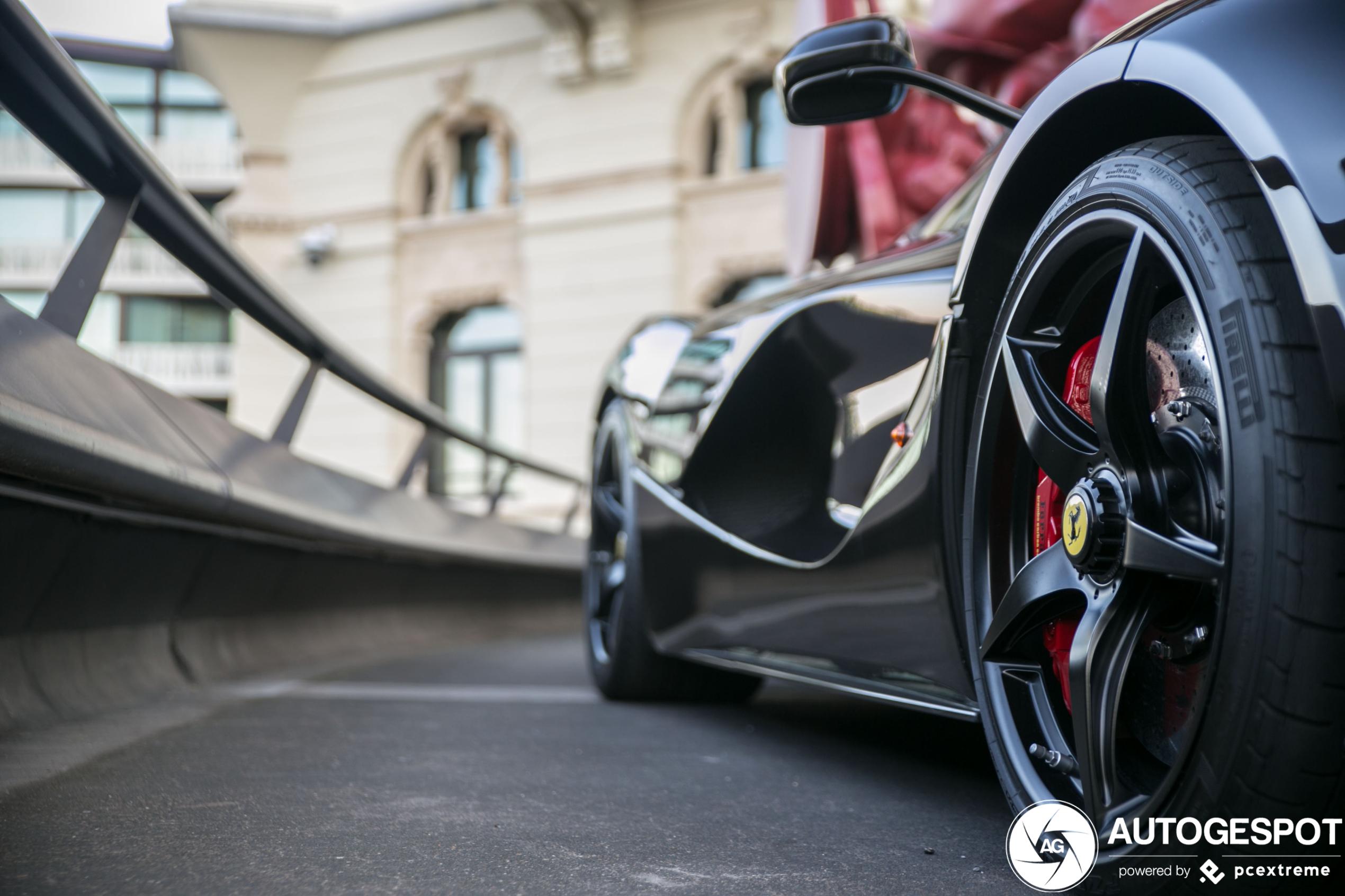 Ferrari LaFerrari is ster van de show