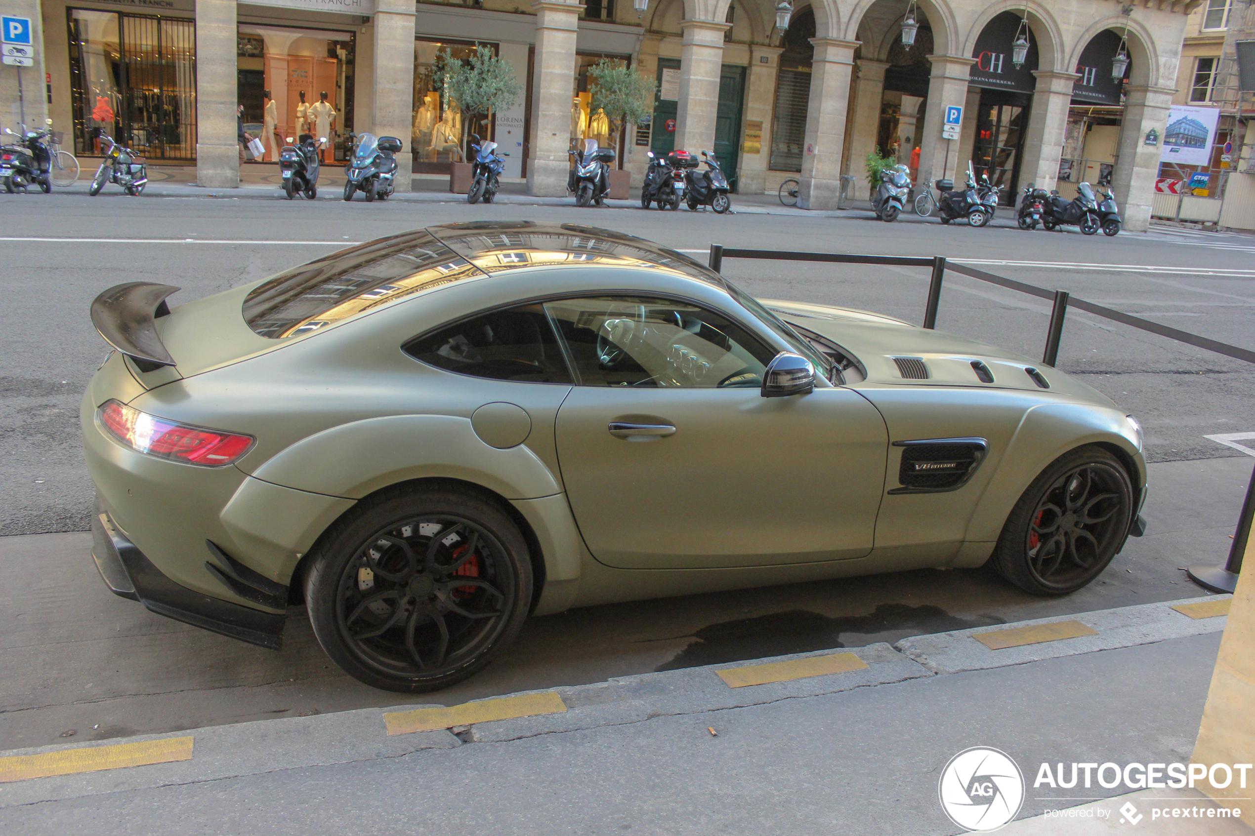 Dit is een optie als je de Mercedes-AMG GT Black Series te wild vind