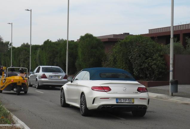 Mercedes-AMG C 63 S Convertible A205 Ocean Blue Edition
