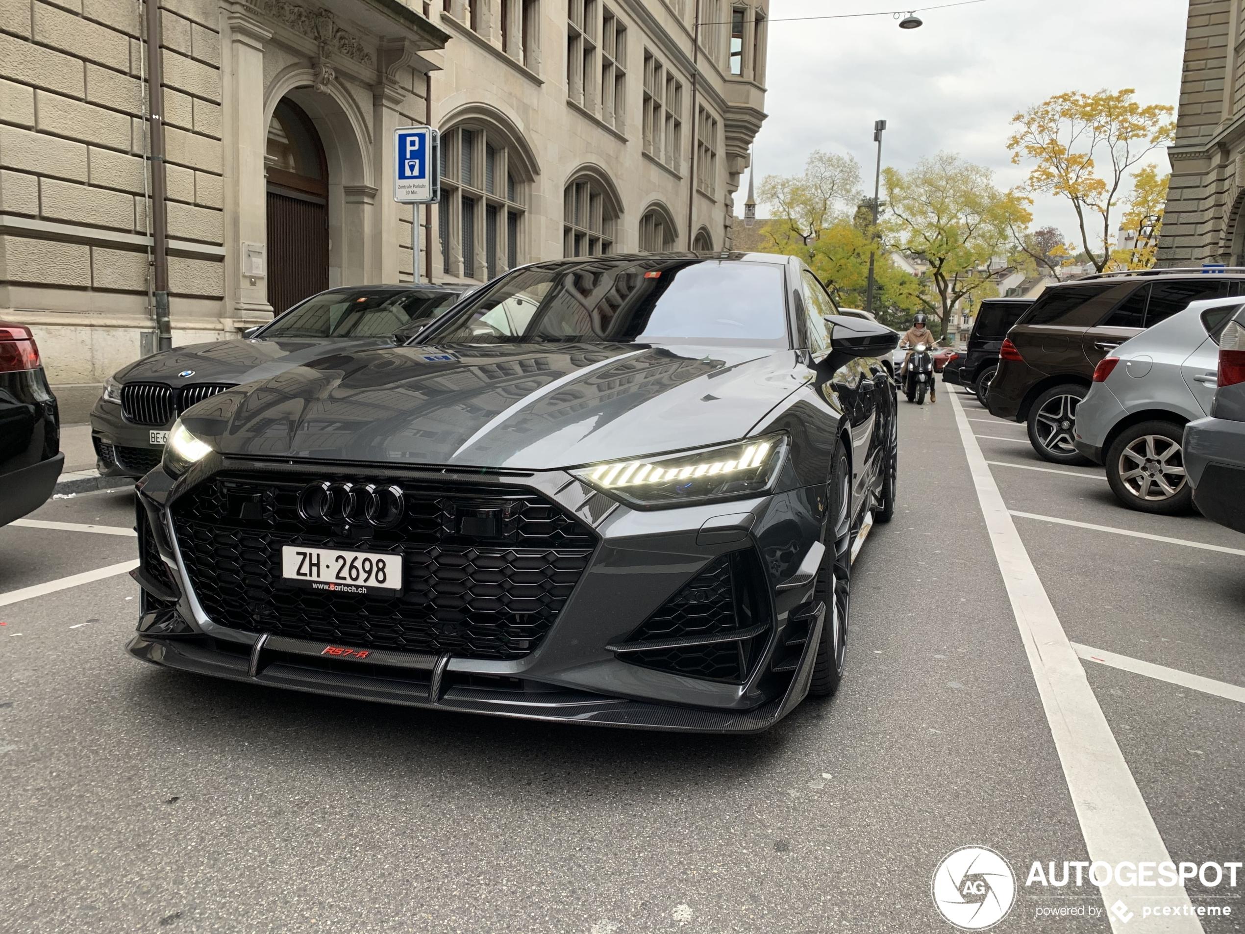 Primeur gespot: Audi ABT RS7-R