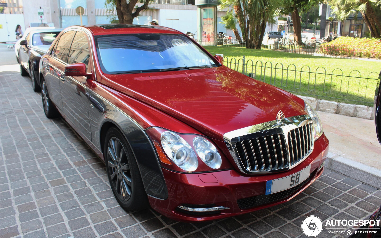 Maybach 57 S 2011 China Edition