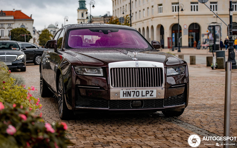 Rolls-Royce Ghost EWB 2021