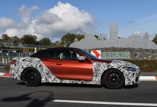 BMW M4 G83 Convertible